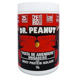 Pasta Amendoim Brigadeiro com Whey Isolado - Dr Peanut