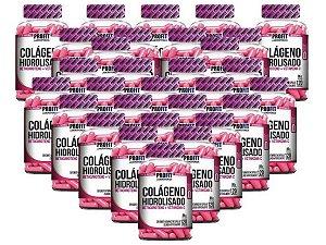 30X Colágeno Hidrolisado C/ Betacaroteno + Vit C 120 caps - Profit