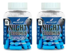 2x Night Abdomen 60 Tabs - Body Action