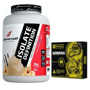 Isolate Definition 2kg Baunilha Body + Kimera 60 Tabletes