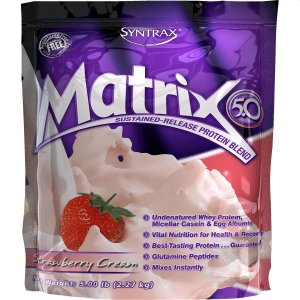 Whey Protein Matrix - 2.270g  Morango - Syntrax
