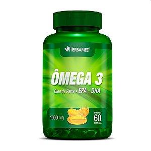 Omega 3 Epa - Dha 60 Cápsulas - Herbameds