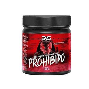 Prohibido 3vs 360gr Pré Treino Sabor Strawberry Margarita