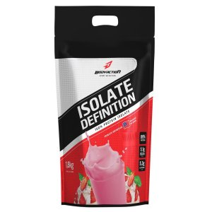 Whey Isolate Definition 1.8KG  - Bodyaction Sabor: Morango