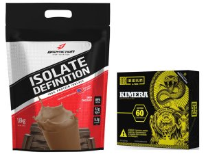 Whey Isolate Definition (1.8kg) Chocolate + kimera 60 Caps