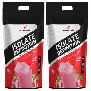 2x Whey Isolate Definition (1.8kg) Body Action - Morango
