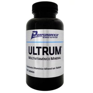 Multivitaminico Ultrum 100 Tabletes - Performance