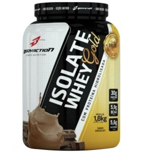 Whey Gold Isolate Definition 1.8kg Body Action Chocolate