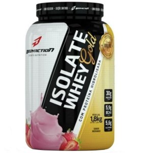 Whey Gold Isolate Definition 1.8kg Body Action Morango