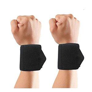 Par Munhequeira Cross Protetor Punho Treino Peso Musculação