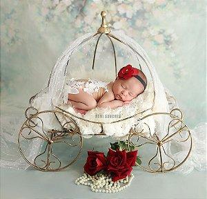 Carruagem Geração 3 Props Newborn Decoração Festas Artebrasil