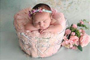 Balde Coração Fotos Newborn Artebrasil Props Festas