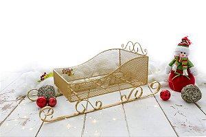 Trenó Telinha Fotos Newborn Natal Fotografia Acessórios ArteBrasil