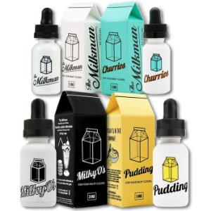 E-LIQUID CIGARRO ELETRONICO MILK SERIES 99%VG 30ml 0mg/ml The Milkman