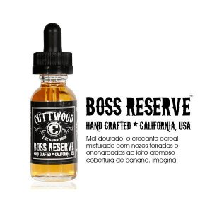 LIQUIDO CUTTWOOD BOSS RESERVE 30ML