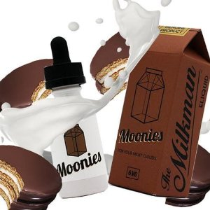E-LIQUID MOONIES MAX VG, 30ml 3mg - The Milkman