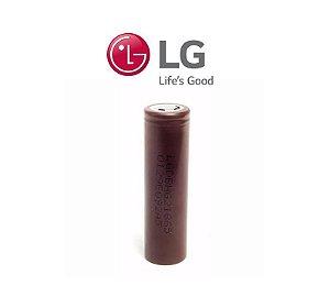 Bateria LG - 18650 HG2 3000mAh - 35a - 3.7 v li-ion recarregável unidade