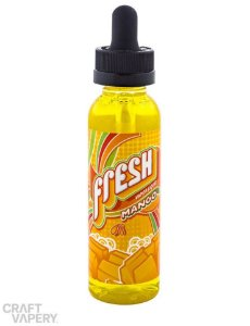 MANGO (MANGA) - FRESH VAPOR LIQUID 60ml - 3mg nicotina