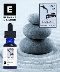 LIQUIDO ZEN DRIPPER E-LIQUID  - 20 ML - 3 MG DE NICOTINA