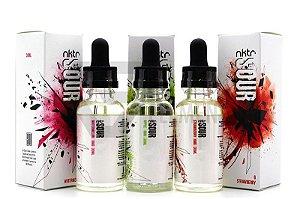 E-liquids NKTR SOUR - MELANCIA - MORANGO E MAÇÃ - 30ML - 3MG NICOTINA