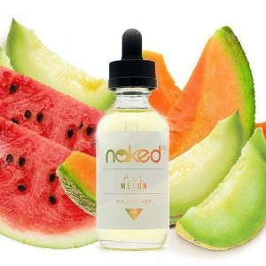LÍQUIDO NAKED 100 - ALL MELON 60 ML 3MG NICOTINA