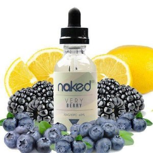 LÍQUIDO NAKED 100 - VERY BERRY - 60 ML - 3MG NICOTINA