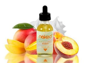 LÍQUIDO NAKED 100 - MANGO -  60 ML - 3MG NICOTINA