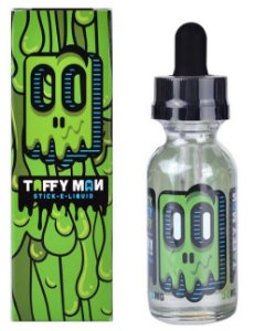 Taffy Man e-Liquid-taffy de maça verde - 30 ML - 3 MG NICOTINA