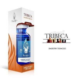 LIQUIDO PREMIUM HALO 30ML - TRIBECA - SMOOTH TOBACCO HIGH-VG