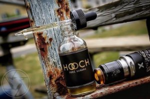 LIQUIDO HOOCH - PURE BANANA 60ML - 0mg nicotina