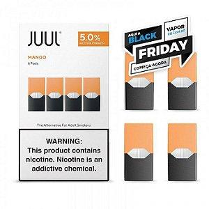 REFIL JUUL (PACK OF 4) MANGO- PROMOÇÃO BLACK FRIDAY