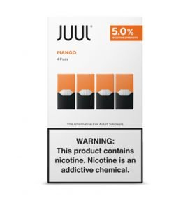 REFIL JUUL (PACK OF 4) MANGO