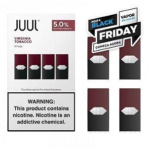 REFIL JUUL (PACK OF 4) VIRGINIA TOBACCO - PROMOÇÃO BLACK FRIDAY