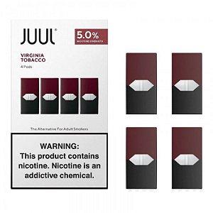 REFIL JUUL (PACK OF 4) VIRGINIA TOBACCO
