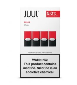REFIL JUUL (PACK OF 4) FRUIT MEDLEY