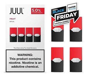 REFIL JUUL (PACK OF 4) FRUIT MEDLEY - PROMOÇÃO BLACK FRIDAY