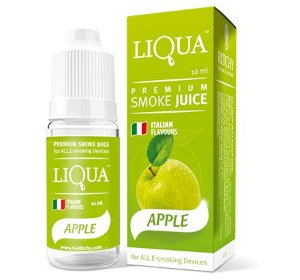 LÍQUIDO  APPLE (MAÇÃ VERDE) - LIQUA 30ML - 12MG NICOTINA