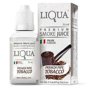 LIQUIDO LIQUA FRENCH PIPE TOBACCO - 30ML - 18MG NICOTINA