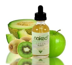 LÍQUIDO NAKED 100 - GREEN BLAST 60 ML 0MG