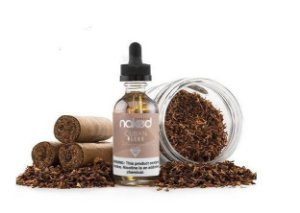 LIQUIDO NAKED 100 - TOBACCO CUBAN BLEND  - 60 ml - 3mg NICOTINA