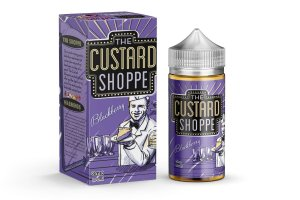 LIQUIDO THE CUSTARD SHOPPE - BLACKBERRY (AMORA) 100ML - 3MG NICOTINA