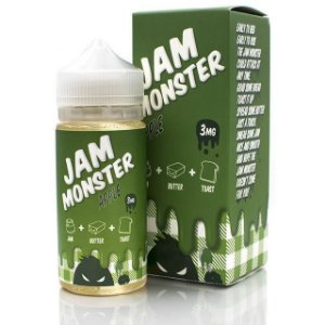 LIQUIDO JAM MONSTER APPLE - 100ML - 3MG NICOTINA