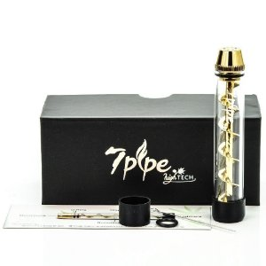 7 Pipe Twisty Glass Blunt - High Tech - VAPORIZADOR DE ERVAS