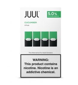 REFIL JUUL (PACK OF 4) COOL CUCUMBER