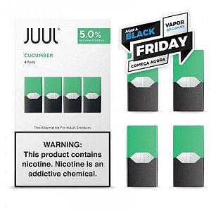 REFIL JUUL (PACK OF 4) COOL CUCUMBER - PROMOÇÃO BLACK FRIDAY