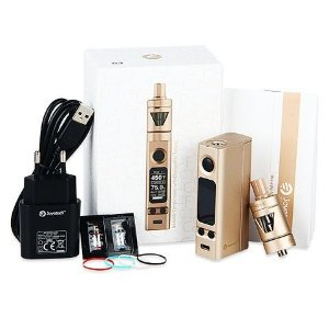 Kit eVic VTC Mini with TRON    Firmware Upgradeable Joyetech (acompanha 1 bateria brinde)