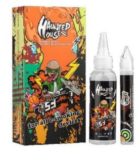 LIQUIDO - HAUNSTED HOUSE (LARANJA) 75ml - 3MG NICOTINA
