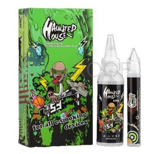 LIQUIDO - HAUNSTED HOUSE (VERDE) 75ml - 3MG NICOTINA