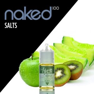 LIQUIDOS SALT NIC - NKD 100 - GREEN BLAST