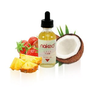 LÍQUIDO NAKED 100 - LAVA FLOW  - 60 ML - 0MG NICOTINA